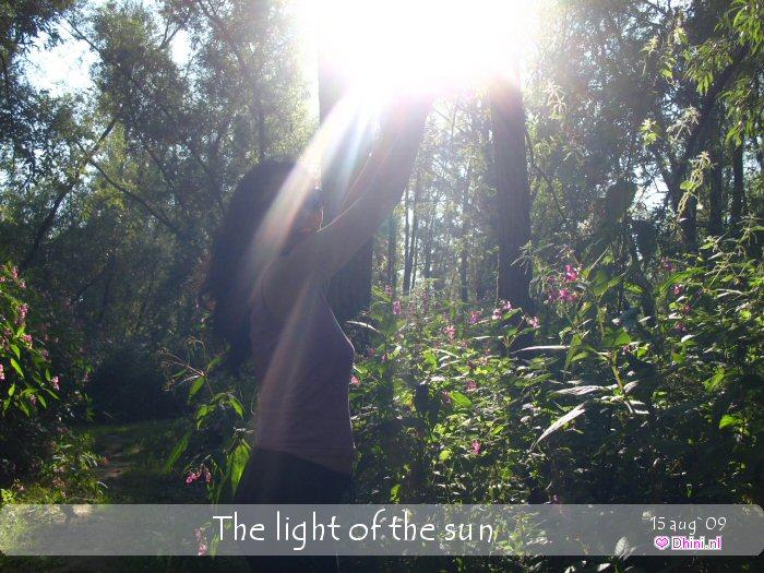 Het licht van de zon