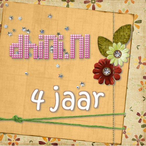Dhini.nl jarig